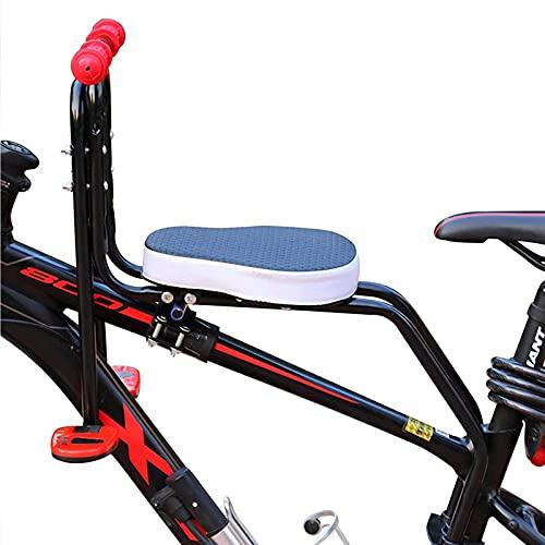 Kettles Kind Fahrradsitz Modernes Abnehmbare Vordere Fahrradsitz Kindersitz Pedal mit Griff für Fahrrad MTB Road BIK