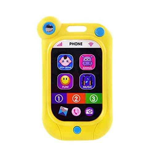 PIGMANA Kinder Handy Baby Fernbedienung, Telefon Musikspielzeug, Kinder Handy Spielzeug, mit Licht, Musik, für Kinder über 12 Monate benchmark