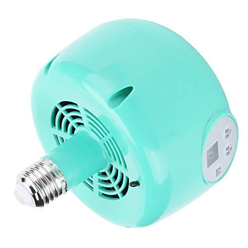 Lüfterheizung, frei heizbare Lampenthermostat, feuerfeste und hitzebeständige LED-Warmlichtbeleuchtung Home Travel für Pet Chicken