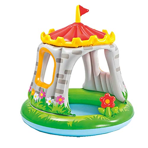 Intex Royal Castle Babypool - Kinder Aufstellpool - Planschbecken - Ø 122 x 122 cm - Für 1-3 Jahre