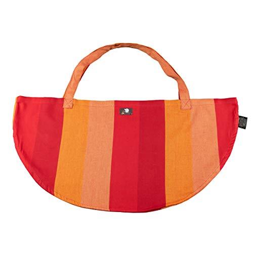 Hoppediz Wiegetuch für Hänge-Babywaage, Delhi orange, 0.58 x 0.34 m