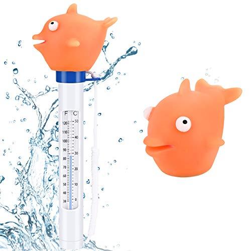 Schwimmendes Badethermometer Fisch
