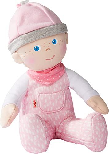 HABA 305752 - Kuschelpuppe Marle, Puppe ab 0 Jahren