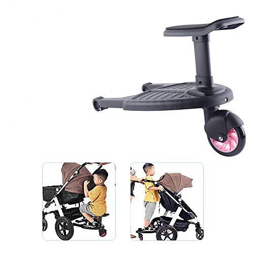 Buggy Board Sitz,Universal Kiddy Board,Trittbrett Sitz für Kinderwagen Rollbrett bis 25Kg