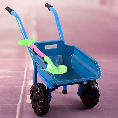 HGJINFANF Erstklassige Verarbeitung bringt Ihren Kindern UNT Strand Kinderspielzeug Strandscheibe Bulldozer Spielsand Werkzeuge Kinder Geschenke (Color : Blue)