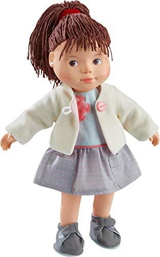 HABA 304888 - Spielpuppe Clea, weiche Puppe mit Kopf und Gliedmaßen aus Vinyl, 32 cm, Spielzeug ab 3 Jahren