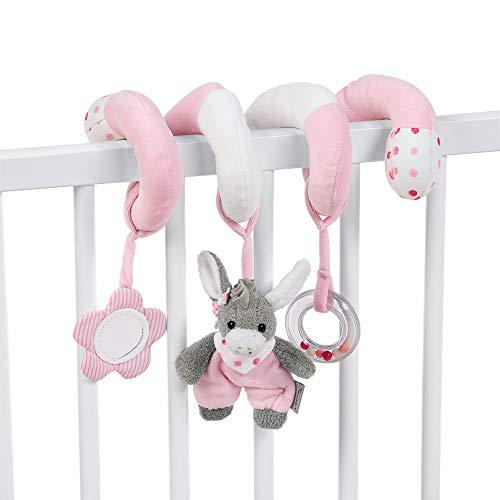 Sterntaler Spielzeugspirale, Esel Emmi Girl, Inklusive Rassel, Alter: Für Babys ab der Geburt, Rosa