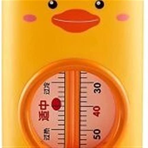GXT Baby Bad Floating Thermometer Wasser Temperatur Zimmer Thermometer mit Temperatursicherheitsindikator für Säuglingsbadewanne und Schwimmbad Bequem und schnell (Color : Yellow)