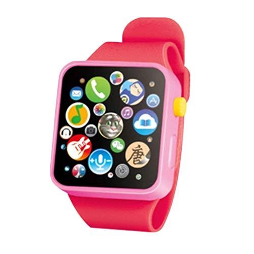 Yunobi Kinder Smartwatch Spielzeug mit Touchscreen, frühkindliche Bildung, Armbanduhr 3D-Touchscreen, Musikgeschichte, Baby-Geschenke für Mädchen und Jungen