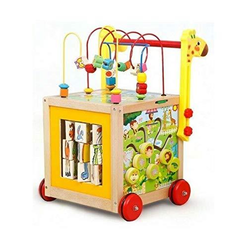 Holz Kinderwagen pädagogische Walking Lauflernwagen Lauflernhilfe 6in1 COIL