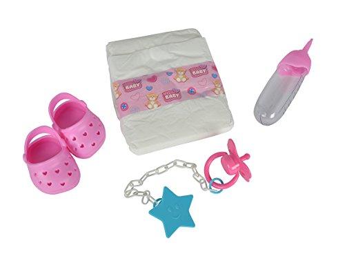 Simba 105560004 - New Born Baby Puppen Zubehör Set