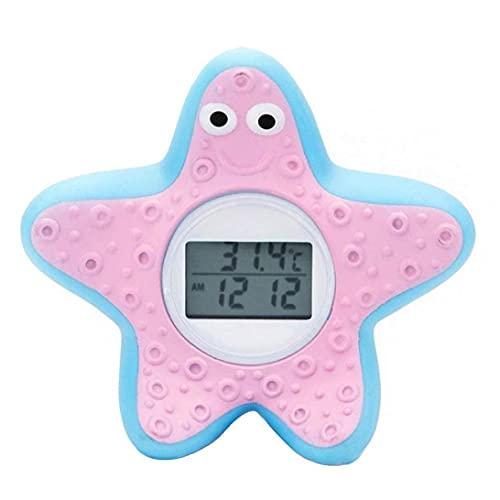 Baby-Bad-Thermometer Digital-Karikatur Wasser-Thermometer für Badewanne mit Warnung Alarm