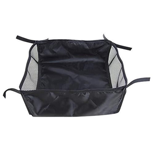 Faderr Kinderwagenkorb, staubdicht, für Kinderwagen, Buggy, Unterseite, Hängekorb, Kinderwagenunterseite, Organizer-Tasche (Größe: L)