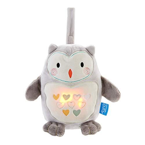 Gro Grofriend Einschlafhilfe für Babys, Spieluhr aus Plüsch und Nachtlicht, Ollie die Eule
