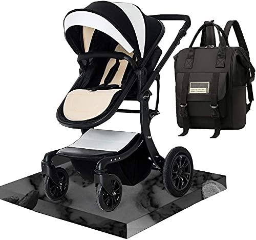 Baby-Kinderwagen tragbarer und leichter Kinderwagen infant Kleinkind Baby-Kinderwagenwagen, kompakte Kinderwagen-Kinderwagen-Kinderwagen mit Baby-Windel-Tasche-Rucksack, schnelle Fold-Kinderwagen lieg