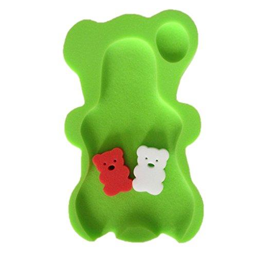Guangcailun 9 Farben Schwamm-Baby-Badematte Badewanne Schwamm Badewanne Anti-Rutsch-Schwamm-Matte Anti-Rutsch-Badewanne Baby-Badewanne Pad Neugeborene für Babypflege