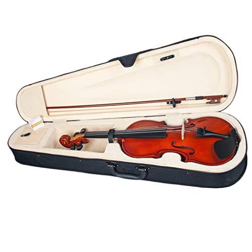 YUXIwang Violine Akustische Violine 1/8 Größe mit Tragetasche und Bogen, Anfängerpackung, für 4-5 Jahre alte Kinder Instrumente