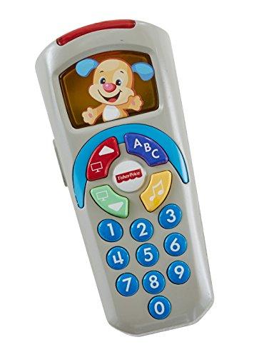 Fisher-Price DLD32 - Lernspaß Fernbedienung, zum Aktivieren von Liedern und Lerninhalten, babyspielzeug ab 6 Monaten