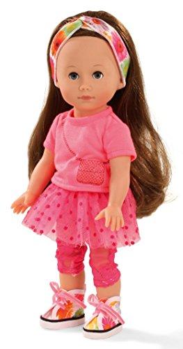 Götz Stehpuppe Chloe mit langen Haaren