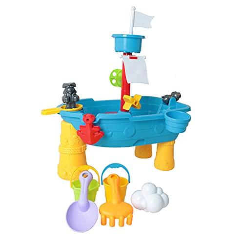BMDHA Wasserspieltisch FüR Kinder,Rain Showers Wasserspieltisch Spielen Sie Im Sand, Spielen Sie Im Wasser Eltern-Kind-Interaktion,Garten Wasser Spieltisch FüR Kinder