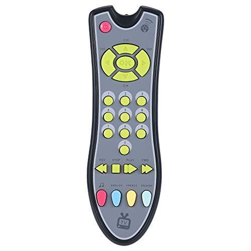 kinder fernbedienung Babyspielzeug Musik TV-Fernbedienung Frühe Lernspielzeug für Kinder Elektro-Controller-Lernen-Maschinen-Spielzeug-Geschenk