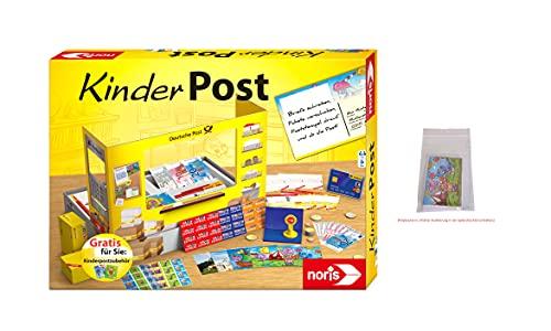 Noris 606011619AMA Kinderpost und Kinderpostzubehör, das beliebte Rollenspiel inkl. Nachfüllset, bereits in der Packung enthalten, für Kinder ab 4 Jahren [Exklusiv bei Amazon]