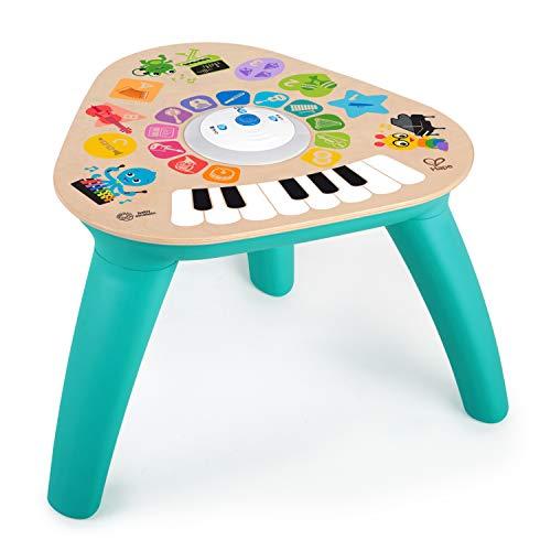 Baby Einstein 12398 Hape Clever Composer Tune Table Magic Touch Spieltisch, Elektronische Aktivitätsspielzeug aus Holz, für Kleinkinder, mehrfarbig