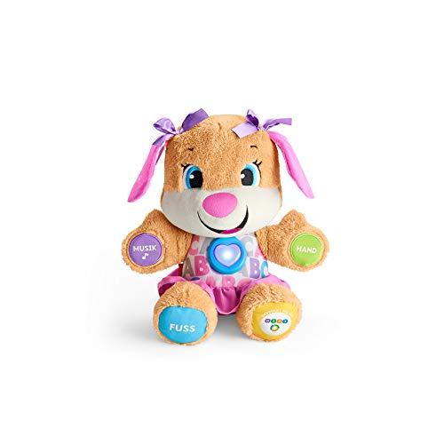 Fisher-Price FPP53 - Lernspaß Hundefreundin, deutschsprachig, babyspielzeug ab 6 Monaten