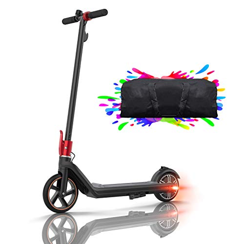 HUABANCHE Elektroroller Kinder E Scooter, 15 Km Reichweite Elektroscooter E Roller Kinderroller E Tretroller 150 W Motor 15 km/h Kinder Elektro Roller 8 Zoll 15 km, für Kinder und Jugendliche, Mini 2