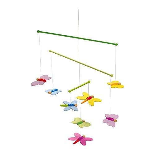 Mobile Schmetterlinge: 33 x 42 cm, Holz, 8 Teile