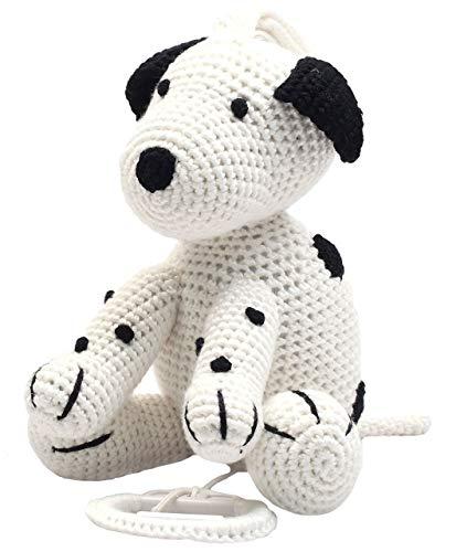 natureZOO Spieluhr (Weißer Hund)