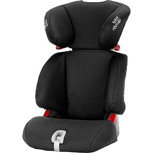 BRITAX RÖMER Kindersitz 15-36 kg DISCOVERY SL, flexibler Einbau und leichte Sitzschale für Kinder (Gruppe 2/3), 3,5 bis 12 Jahre, Cosmos Black