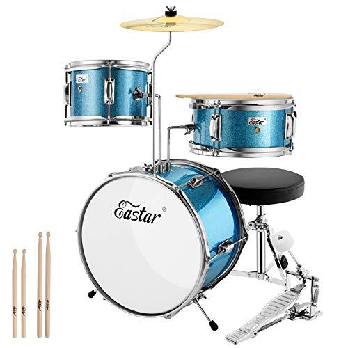 Eastar Schlagzeug 14' 3-teilig, Kinder für 3-10 Jahre