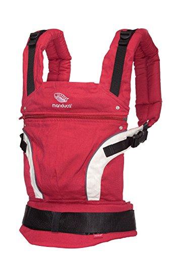 Manduca Babytrage und Rückentrage, Farbe:red
