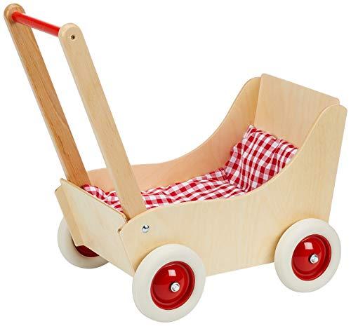 Puppenwagen mit Garnitur und Gummireifen