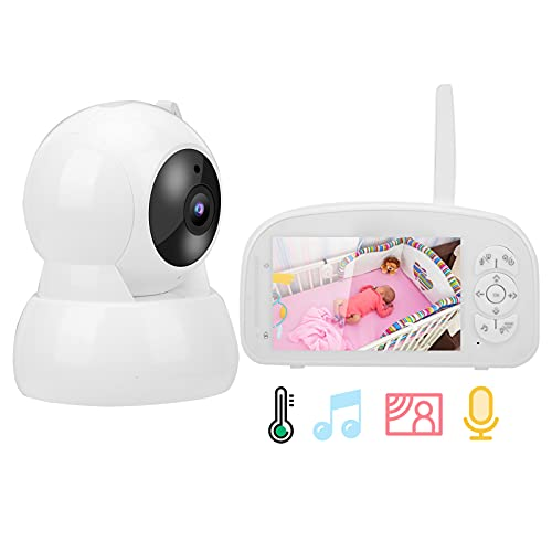 Video-Babyphone, drahtloses Zwei-Wege-Audio-Babyphone für den Schlaf in der Nacht zur Babysicherheit(Übersetzen)