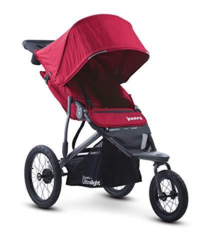 Joovy Zoom 360 Ultraleichter Jogging-Kinderwagen, Rot