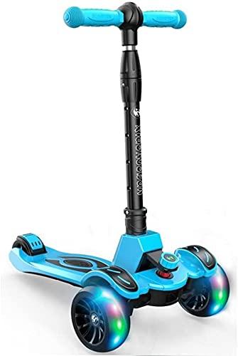 FFVWVGGPAA Kinder Scooter 3 Räder Faltroller Kinderroller Walker Kinder Faltbarer Roller, Kinderroller Spielzeug F00610(Color:b)