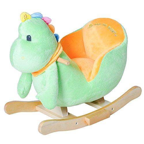 Knorrtoys 40317 - Schaukeltier Dino mit Sound