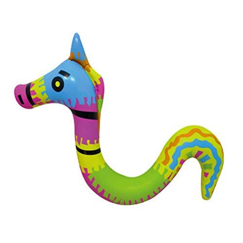Taomeng Wasserhängematte, Aufblasbare Wassertiere, 3D Aufblasbarer Schwimmbad Float Badetiere Pool Tier, Badeinsel Luftmatratze Float Row Schwimmendes Spielzeug Für Kinder Erwachsene