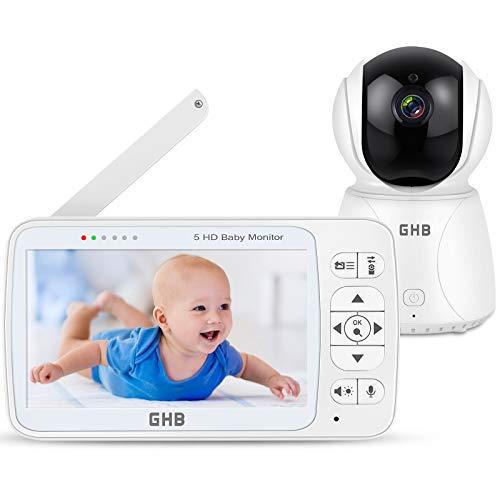 GHB Babyphone mit Kamera, Weitsicht und Schlafliedern