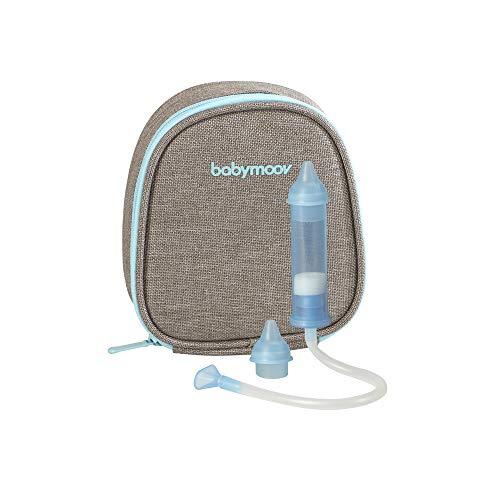 Babymoov Mund-Nasensauger - patentierter Nasensekretsauger, sanfte Nasenreinigung, Made in EU