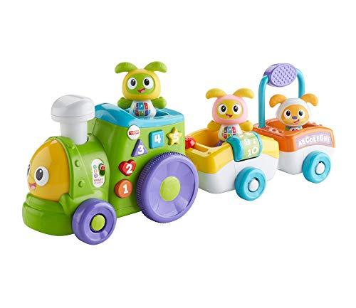 Fisher-Price FXH94 - Tanzspaß BeatBo Zug, Lernspielzeug mit mitwachsenden Spielstufen, Liedern und Sätzen, Spielzeug ab 6 Monaten, deutschsprachig