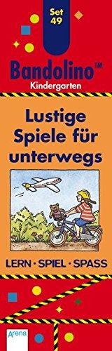 Lustige Spiele für unterwegs: Bandolino Set 49: Kindergarten. Lern - Spiel - Spass