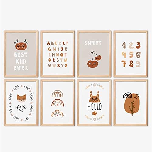 Mia Félice Bilder Kinderzimmer, » Best Kid Ever « Poster Kinderzimmer, Bilder Kinderzimmer Mädchen, Bilder Kinderzimmer Jungen, Kinderzimmer Bilder, Bilder Babyzimmer, Bilder für Kinderzimmer Bild