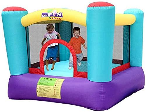ZGYZ Hüpfburgen Kinder-Familien-Spielplatz Indoor-Spiel-Spielzeug-Ausrüstung Indoor- und Outdoor-Kinderspielzeug Kleiner Kindergarten Kindertrampolin, Hüpfburgen