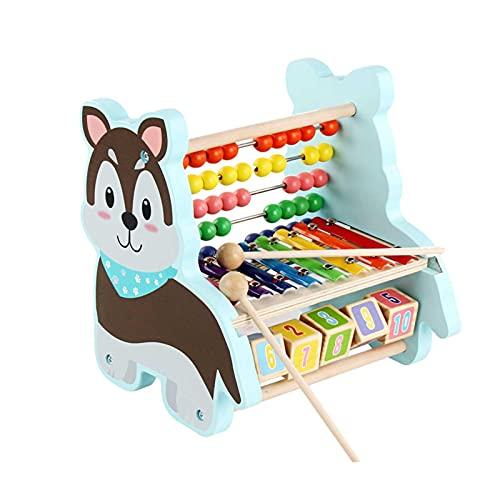 Correct Hammerspiel Xylophon Klopfbank Hammerspiel Spielzeug Montessori Spielzeug Baby Montessori Pädagogisches Holzspielzeug Xylophon Kinder 1 Jahr Holzhammer Hammerspiel