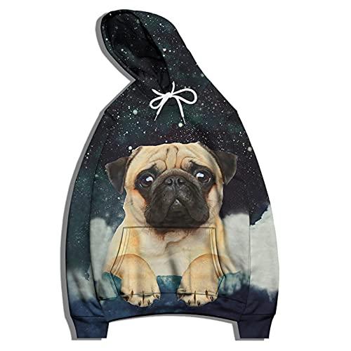 SSBZYES Herren Pullover Hoodie Herren Große Pullover Jacke Mode Bedruckte Tops Paar Hemd Pullover Lässige Langarm T-Shirt Damen Hoodie