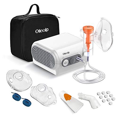 Inhalationsgerät Oteoip Kompressor Inhalator Vernebler für kinder und Erwachsene MCN-S600F