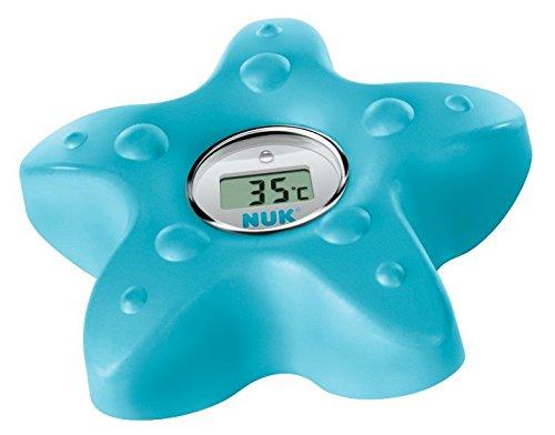 NUK Digitales Badethermometer, zum Messen der Wasser-Temperatur